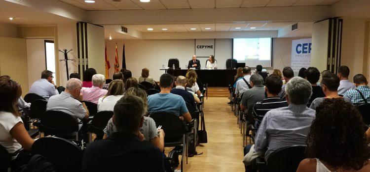 CEPYME Aragón analiza la aplicación de las nuevas tecnologías al ámbito de la prevención