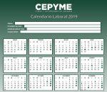 Calendario laboral 2019: Descargable