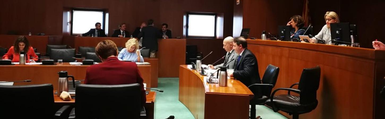 CEPYME Aragón expone en Cortes su posición en relación a la proposición de ley de apoyo al trabajo autónomo y al emprendimiento