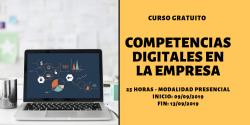 Curso sobre Competencias Digitales en la Empresa