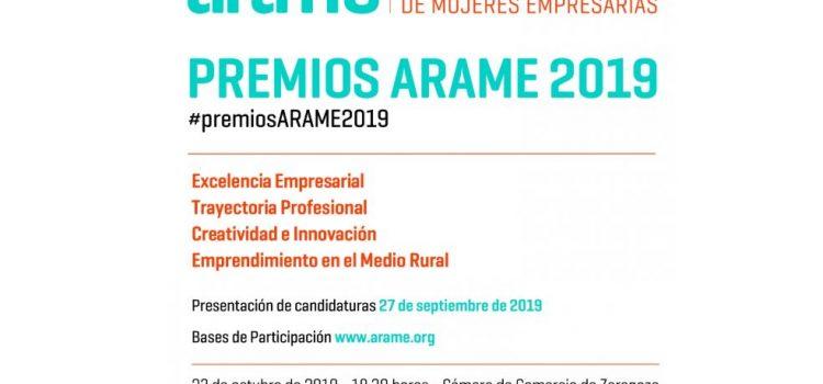 ARAME convoca la XX edición de sus premios