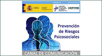 Canal de Comunicación en Prevención de Riesgos Psicosociales de CEPYME Aragón