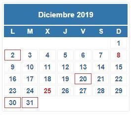 20191200_calendarioDICIEMBRE