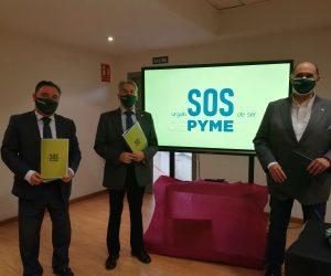 """CEPYME Aragón alza la voz por las pequeñas empresas al grito de """"SOS PYME"""""""