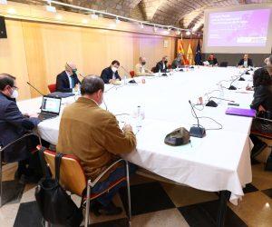 Los fondos europeos Next Generation centran la última reunión de la mesa técnica de la Estrategia Aragonesa de Recuperación Social y Económica