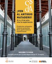 Artesanos de Aragón organiza una feria-experiencia en el antiguo Matadero de Zaragoza