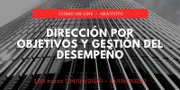 Curso Dirección por objetivos y gestión del desempeño