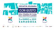 """CEPYME Aragón se une a la iniciativa solidaria """"Con gusto, una comida en casa para nuestros mayores"""""""