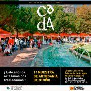 La feria de artesanía de Plaza Los Sitios se traslada al Matadero de Zaragoza