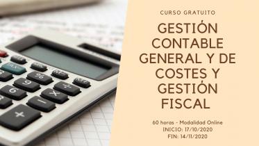 Curso GESTIÓN CONTABLE GENERAL Y DE COSTES Y GESTIÓN FISCAL