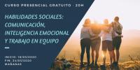 Curso Habilidades Sociales: Comunicación, Inteligencia emocional y Trabajo en equipo