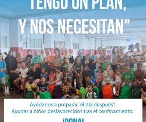 La Fundación Carlos Sanz pone en marcha una campaña para ayudar a las familias más necesitadas cuando termine el estado de alarma