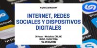 Curso Internet, redes sociales y dispositivos digitales