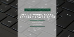 Curso Office: word, excel, access y power point