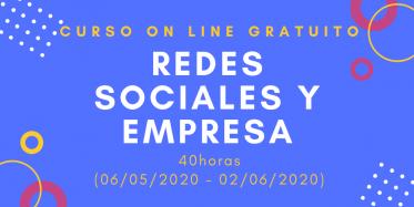 Curso Redes sociales y empresa