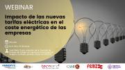 Webinar: Impacto de las nuevas tarifas eléctricas en el coste energético de las empresas
