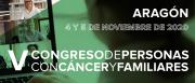 AECC organiza el V Congreso Aragonés de Personas con Cáncer y Familiares