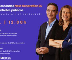"""Webinar : """"La gestión de los fondos Next Generation EU a través de contrato público"""", organizado por Zabala"""