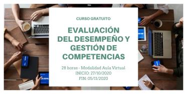 Curso EVALUACIÓN DEL DESEMPEÑO Y GESTIÓN DE COMPETENCIAS