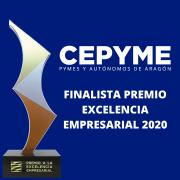 CEPYME Aragón, finalista al Premio a la Excelencia Empresarial 2020