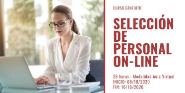 Curso SELECCIÓN DE PERSONAL ON-LINE